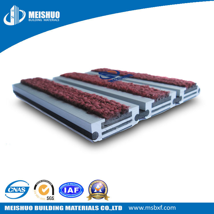 Waterproof Recessed Commercial Roll-up Rubber Entrance Floor Mat