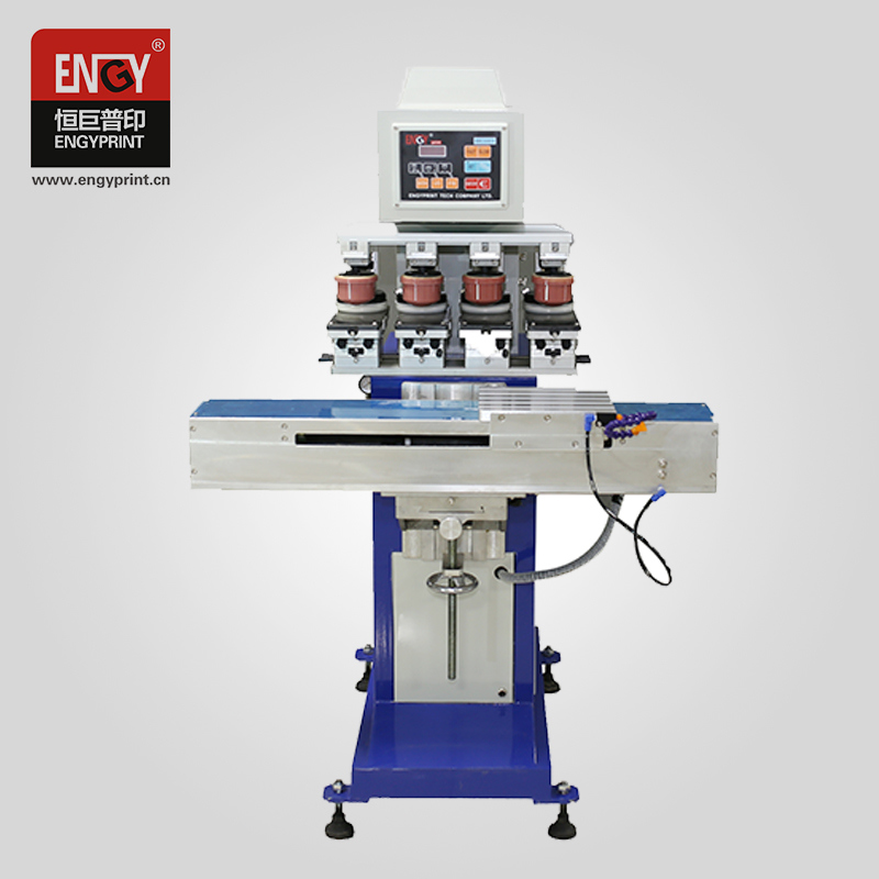 China Dongguan for Sale Pad Printing Machine Bottle Caps 4 Colour Offset Print machine Price