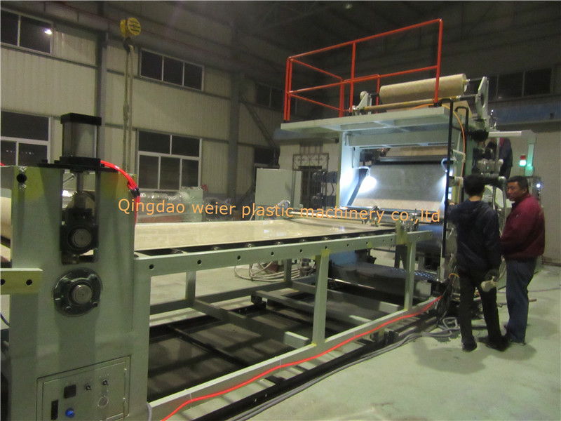 1220mmx2440mm PVC Marble Sheet Line