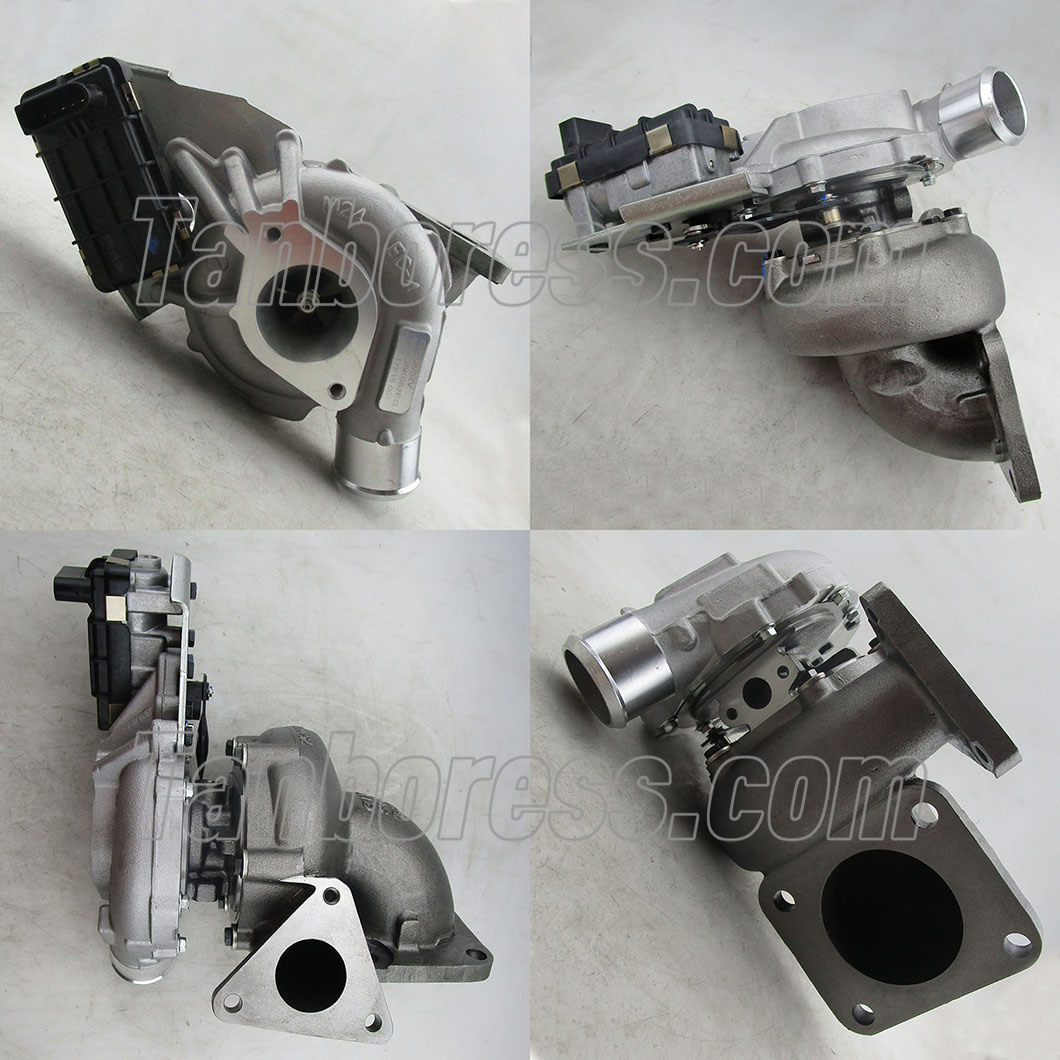 Land Rover 2.4 Tdci 143 HP Electric Turbo Charger with Actuator Turbo Kits Lr018396 752610