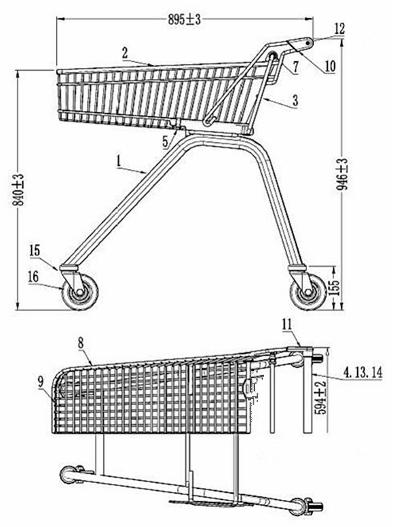 High-Hand Cart/Shopping Cart