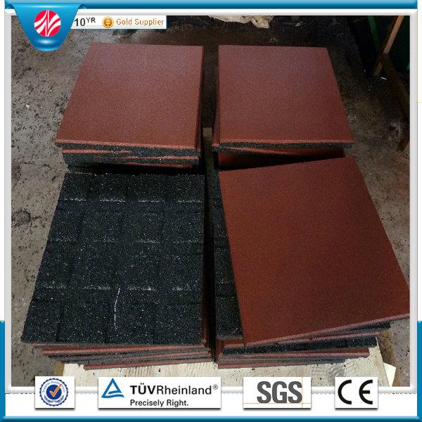 Rubber Flooring Tile, Outdoor Rubber Flooring Tile, Colorful Rubber Paver
