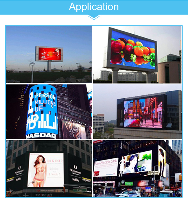 P16 Outdoor LED Display Board & 360 Degrees LED for Advertising (256*256mm)