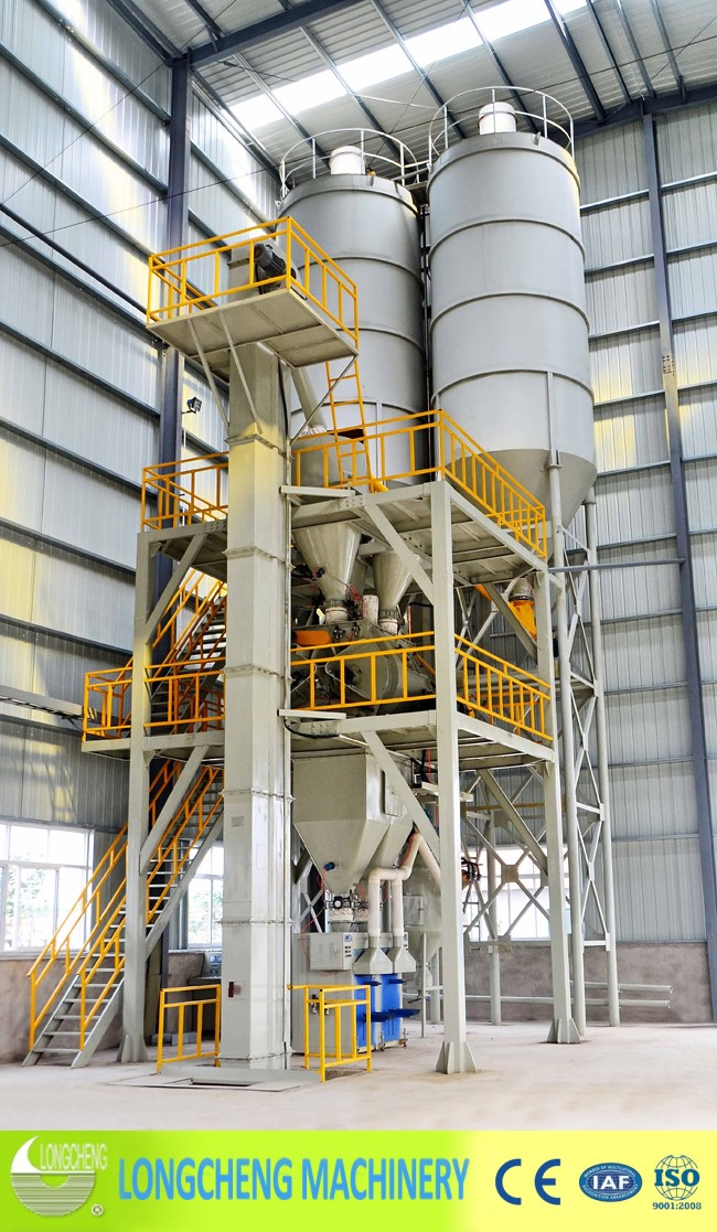 LCP Tower Type Dry Mortar Production Line
