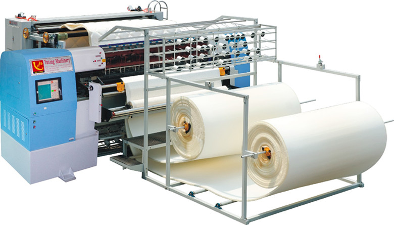 High Speed Non-Shuttle Chain Stitch Multi-Needle Quilting Machine for Mattresses Cover, Mattress Panel