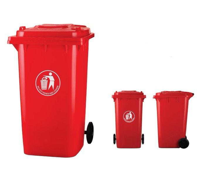 240L Plastic Waste Bins (DJ-240A)