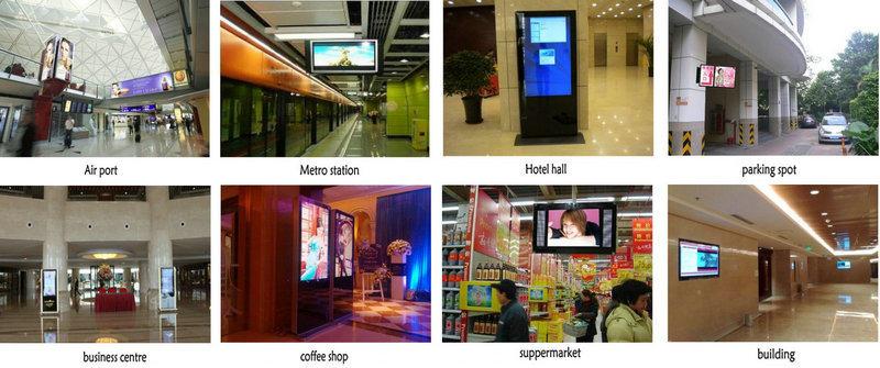 Multi-Zone Display 42 Inch Floor Standing Digital Shoe Polisher