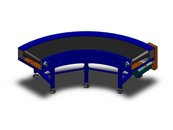 Different Belt Conveyor for Tranmissing Goods Grain and Others