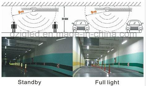 Ce RoHS 6500k PIR LED T8 Tube Light to 600mm Tube