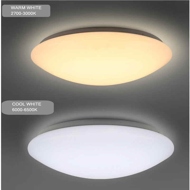 16W Round Ultra Thin LED Infrared Sensor Ceiling Light