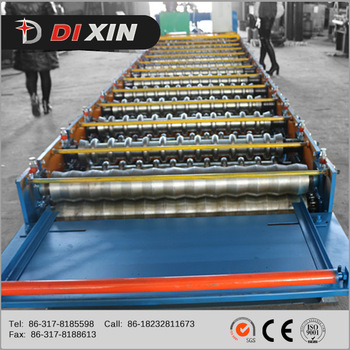 Good Price China Corrugated Wave Roof Profile Roll Forming Machine