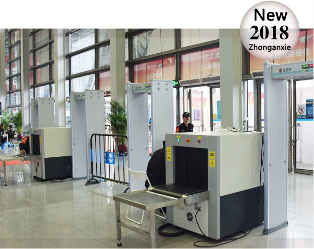 Small-Scale Parcel Inspection X Ray Baggage Scanner Machine for Security System