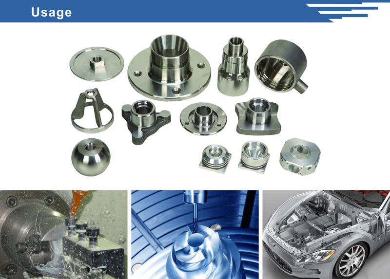 Metal Flange Fitting Parts with ISO Certificate