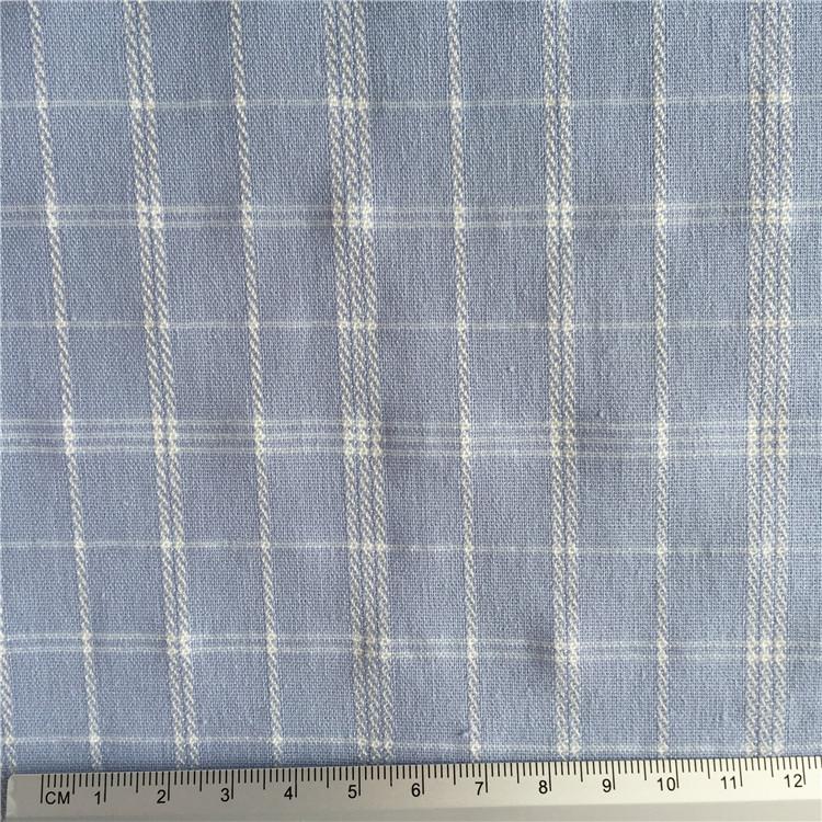 stocklot crepe woven 100% cotton jacquard fabric