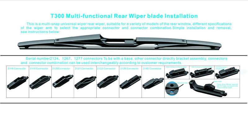 Multi-Functional Back Rear Wiper Blade