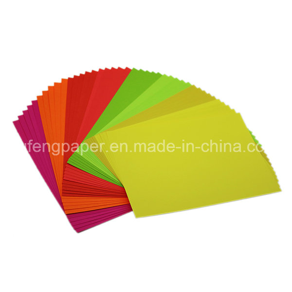 High Quality Wood Pulp Texture Paper Color Paper