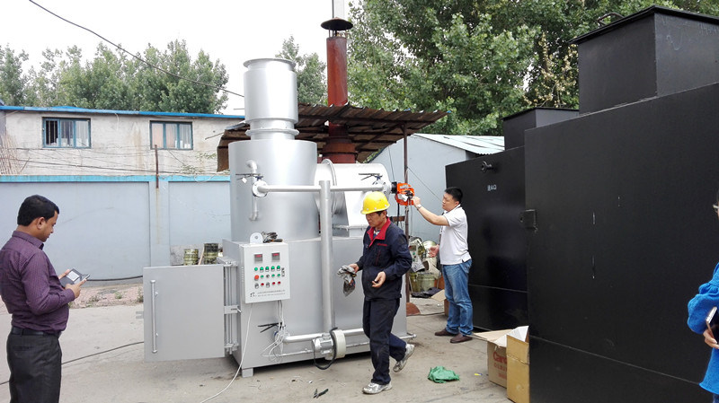 Best Quality Durable Using Various 10-500kg/Batch Incinerator