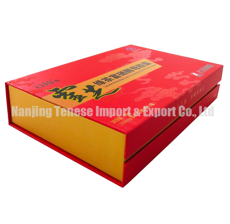 High Quality Health Care Products Packaging Box with Color Printed