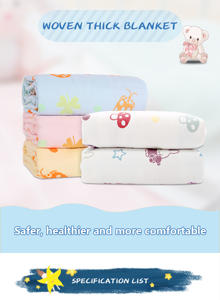 Multilayer Swaddle Blankets
