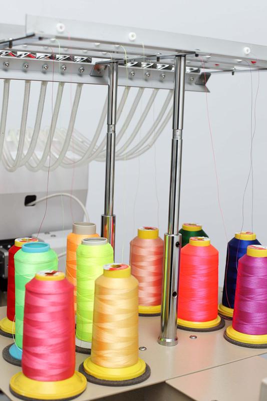 Single Head Flat Cap T-Shirt and Chain Stitch Embroidery Machine