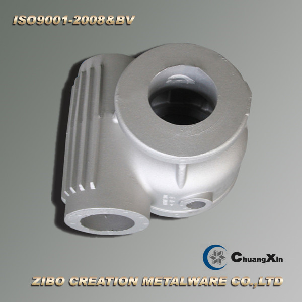 Aluminum Zl104 Material Gravity Casting Gearbox Shell