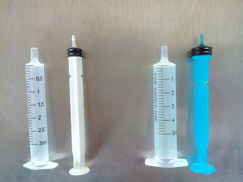 Printed Refill Ink Syringe, Colored Syringe for Inkjet Printer