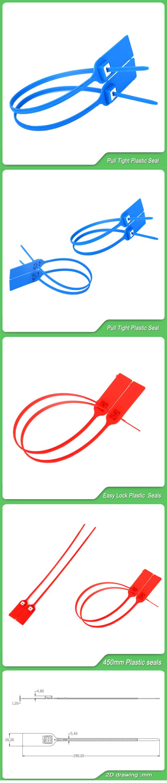 Pull Tight Security Seal, Metal Lock Insert (JY450D)