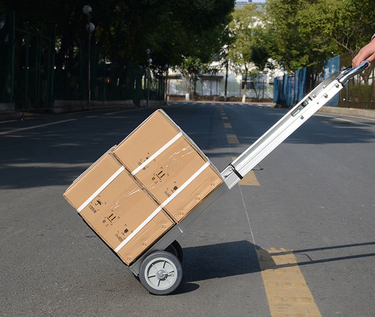 90kg Folding Hand Truck Folding Luggage Cart
