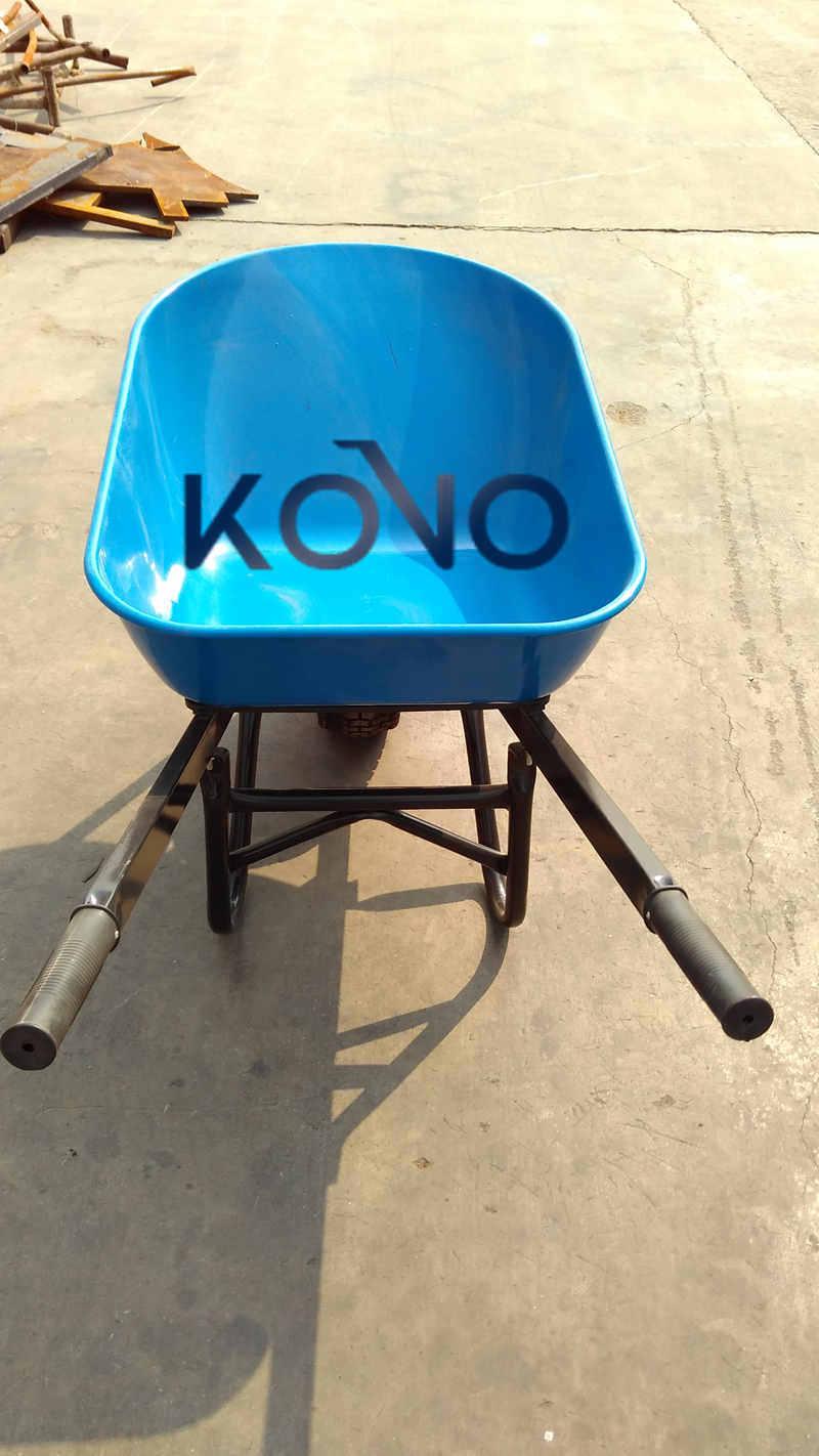 Heavy Duty Australian Wheelbarrow with Plastic Tray