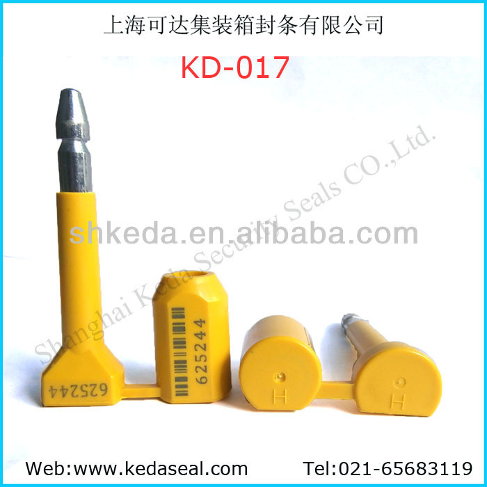 ISO17712 High Security Container Truck Bolt Seals (KD-015)