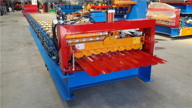 Metal Plate Sheet Roll Forming Machine