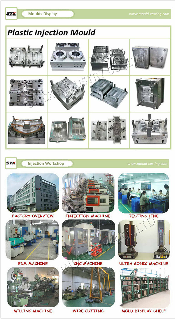 Injection Molded Maker, High Precision White Plastic Injection Mould Parts