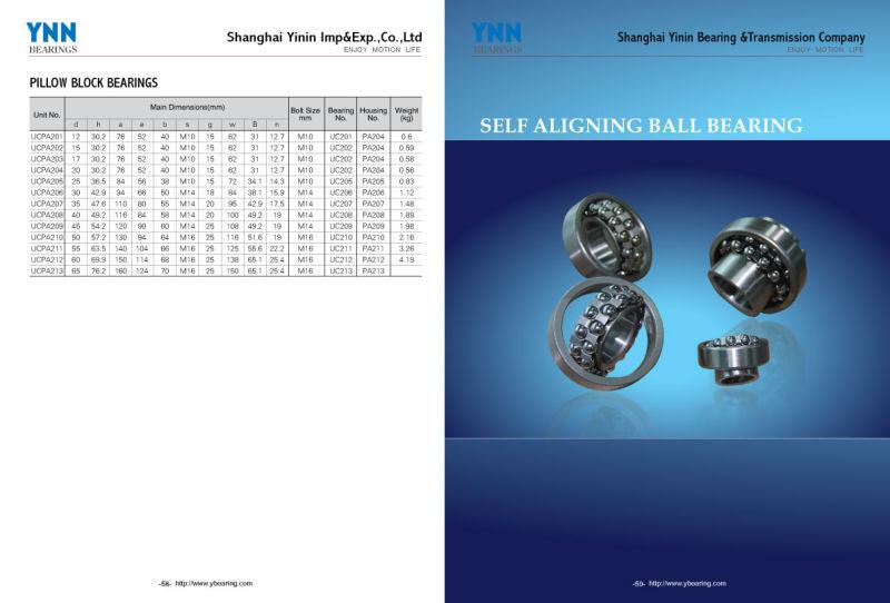 High Quality Self-Aligning Ball Bearing