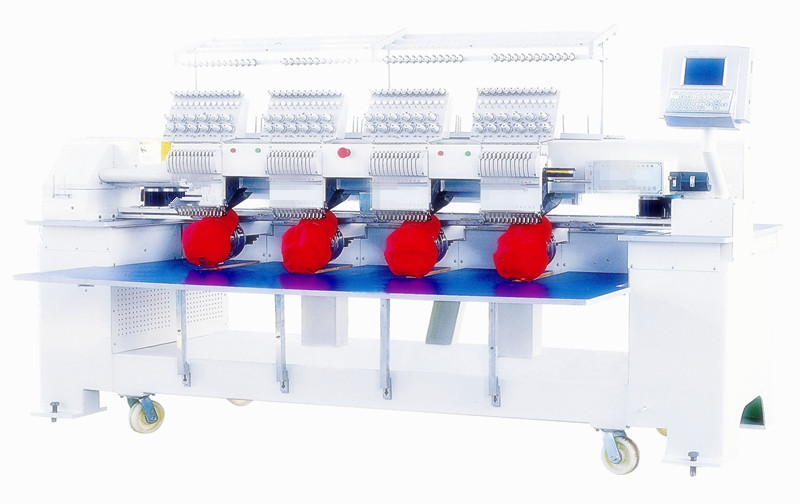 Automatic Thread Trimmer Computerized Cap Embroidery Machine