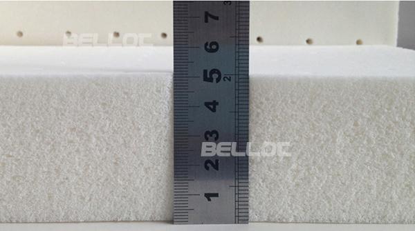 High Elasticity Latex Rubber Foam Bed Mattress