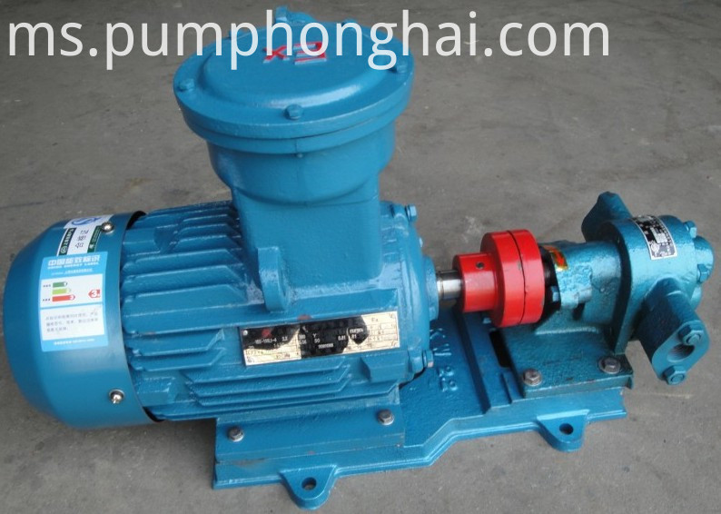 gear oil pump display