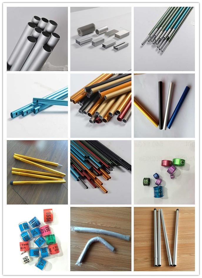 6061/6063 T5 Anodized Aluminum Pipe/Tubes