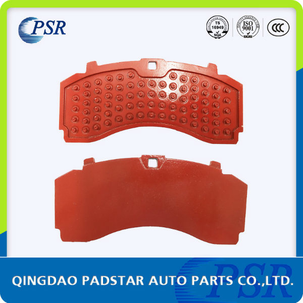 Wva29247 Disc Brake Pads Steel Back Plate 9mm Casting Backing Plate for Mercedes-Benz