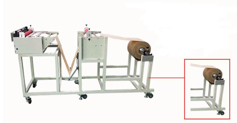 non woven fabric roll to sheet cutting machine