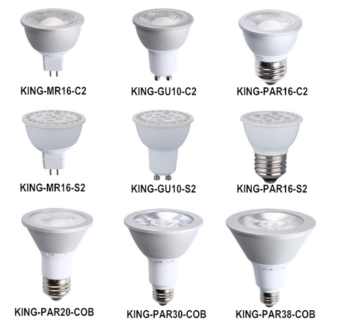 ETL 7W GU10 Dimmable LED Bulb