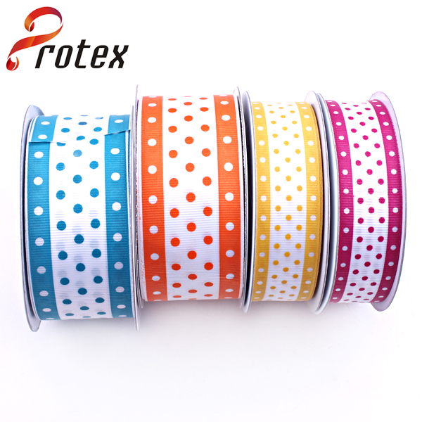 Dots Printing in Colourful Ribbon