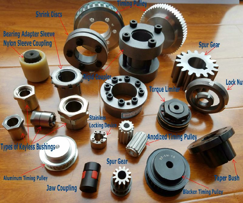Metric Pitch Imperial Pitch Timing Belt Pulleys