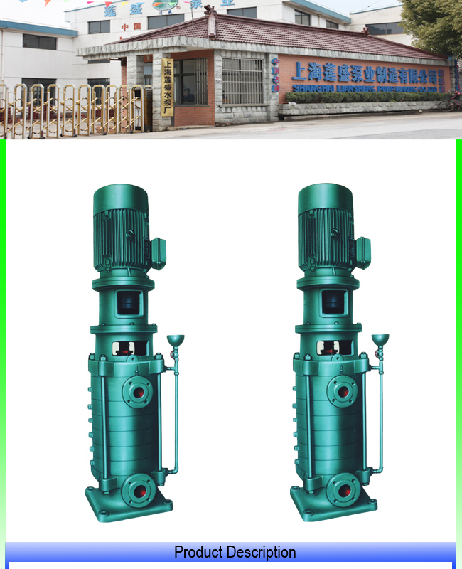 Centrifugal Water Pump for Water and Chemical Liquid