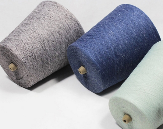 French Linen Polyester Blend Yarn for Fabric and Textile