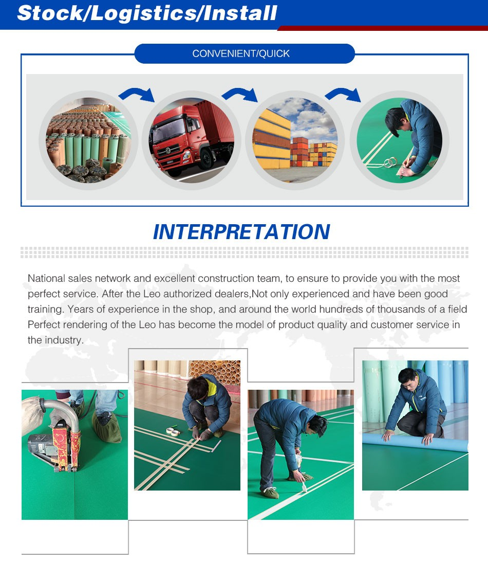 Plastic Vinyl Mats for Gym