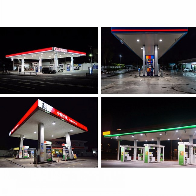 150W High Quality Petrol Station Gas Station Canopy Light LED High Bay Lighting