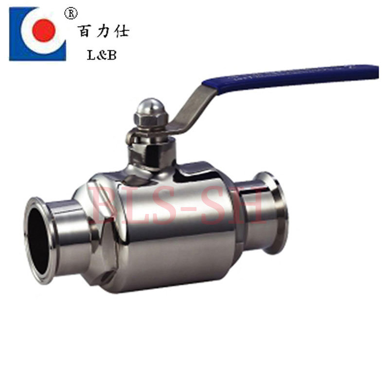 Sanitary Stainless Steel Clamped Ball Valve