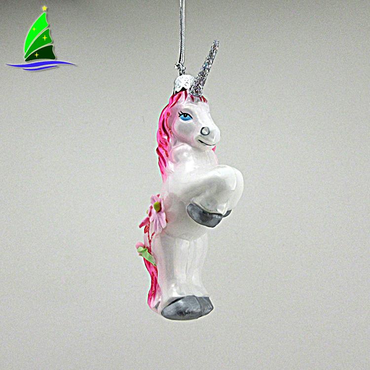Christmas Unicom ornament