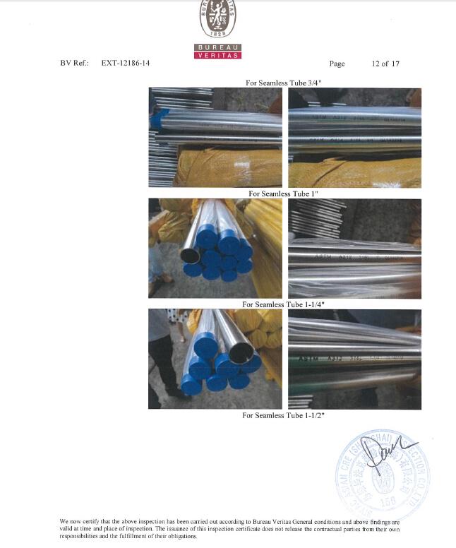Sanitary Stainless Steel Seamless Pipe Tube