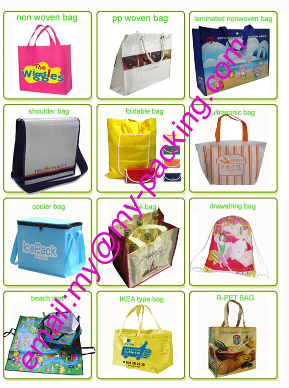 Professional Manufacturer PP Nonwoven Laminated Shoulder Bag for Shopping